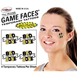 Bad To The Bone Temporary Tattoos 25 Sheets S 12