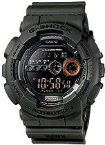 Casio Mens GD100MS-3 XL Series By G-Shock Classic Digital Black Watch