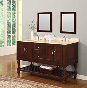 Bathroom Vanities 60 Inch With Top And Sink 60 Inch Bathroom Vanity With Top