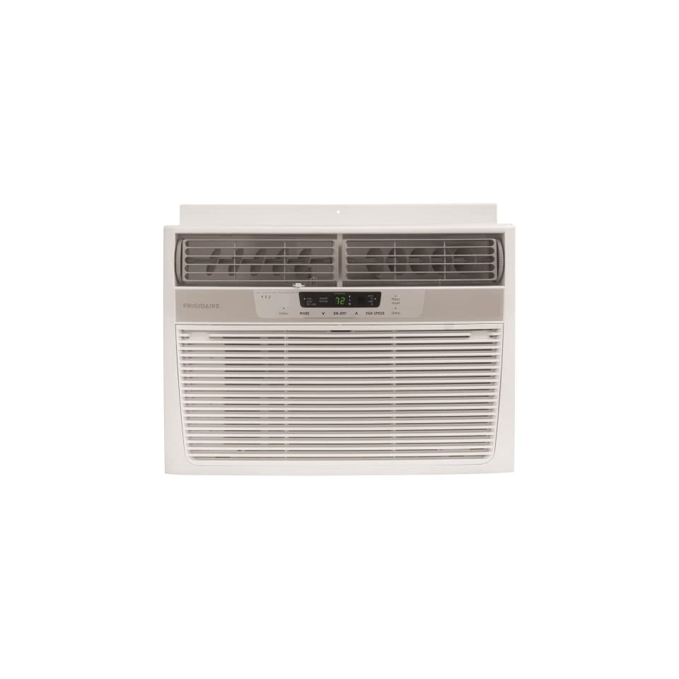 Frigidaire FRA123CV1 12,000 BTU 115 Volt Window Mounted Compact Air Conditioner with Full Function Remote Control
