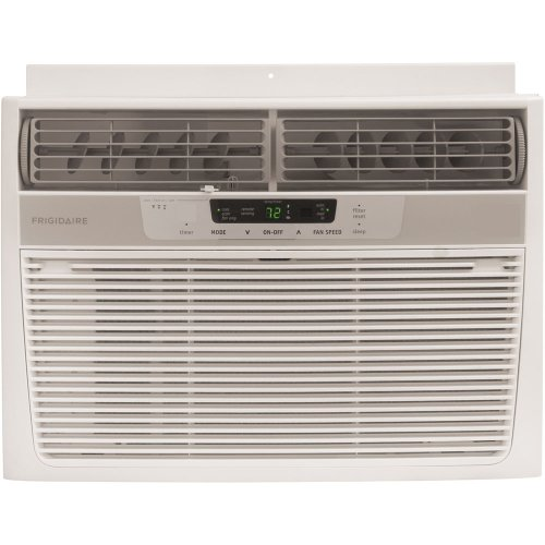 Frigidaire FRA123CV1 12,000 BTU 115-Volt Window-Mounted Compact Air Conditioner with Full Function Remote Control