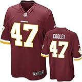 Washington Redskins Chris Cooley #47 Big Boys Game Jersey, Burgundy