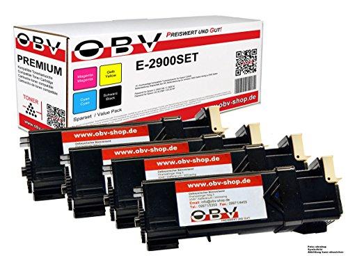 4 x kompatibler Toner für Epson Aculaser