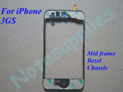Iphone 3gs Mid Frame Bezel Chassis & All Components