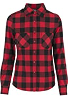 TB388 'Urban Classics' Ladies Checked Flanell Shirt (Various Colours)