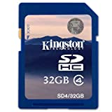 Kingston 32GB SD SDHC Memory Card For Panasonic Lumix DMC-TZ20 Digital Camera