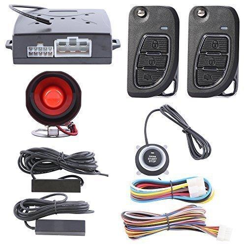 EASYGUARD Smart Key PKE Car Alarm System Passive Keyless Entry with ...