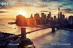 2017 Small New York City NYC Color Photos Calendar C - 9\