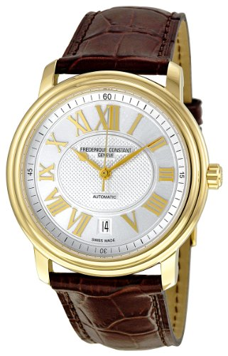 Frederique Constant Men's FC-303NM4P5 Persuasion Heart Beat Gold Roman Numerals Dial Watch