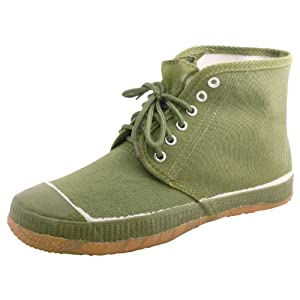 Liberation Pine High Top Classic Chinese Army Shoes by Jiefang