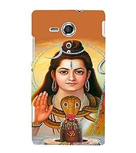 EPICCASE Shiva god Mobile Back Case Cover For Sony Xperia SP (Designer Case)