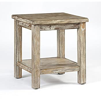 Ashley Furniture T500-302 Chair Side Vintage Rustic End Table