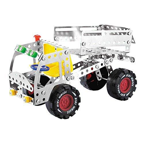 DIY-Auto-Modellbaustze-LKW-Konstruktionsspielzeug-Metall-Gebude-Spielzeug-Spiel-Geschenke-fr-Kinder-ab-6-7-8-Jahre-Jahren