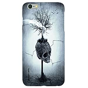 iSweven Luxurious Printed high Quality Scary Design Back case cover for Apple iphone 6/6s iph1480