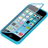 kwmobile Practical and strong TPU Silicone Full Body Protection Case for the Apple iPhone 5C in Light blue - Real all around protection for your Apple iPhone 5C