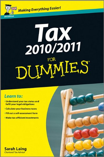 Tax 2010 / 2011 For Dummies: Sarah Laing: 9780470662557: Amazon.com: Books