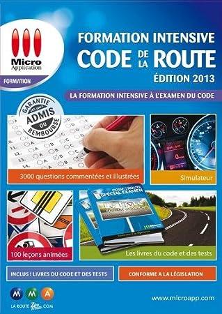Formation intensive code de la route - édition 2013