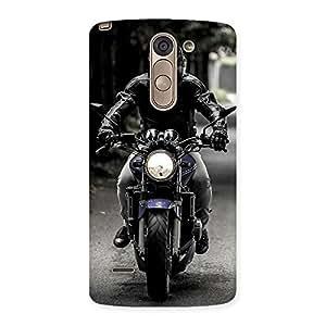 Radiant Bike Rider Back Case Cover for LG G3 Stylus