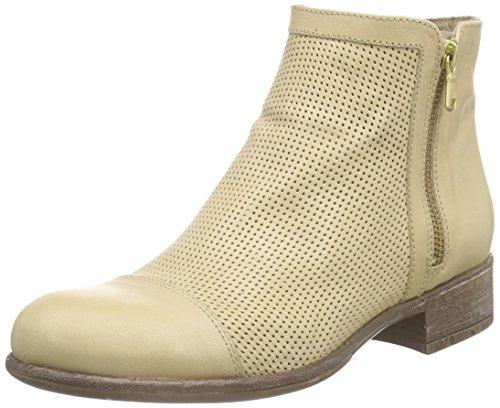 MANASCAROLINA - Stivali Desert a gamba corta, imbottitura leggera Donna , Beige (Beige (BEIGE+BEIGE)), 40