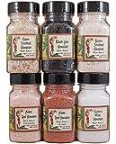 Aloha Spice Variety Set of 6 Specialty Salts