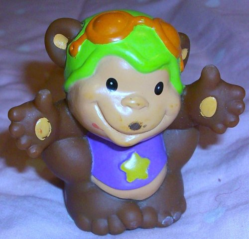 Buy Low Price Mattel Fisher Price Little People Monkey Replacement Figure Doll Toy (B00258PNZ2)