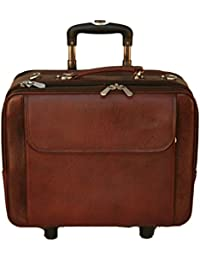 PE 100% Genuine Soft Fine Mild Leather New Bag Luggage & Trolly Bag & Tote Bag