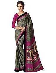 AG Lifestyle Women's Silk Saree(SD103, Grey)