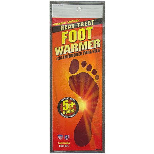 Grabber Heat Treat Foot Warmer Insoles 3-Pack