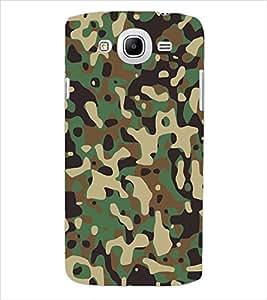 ColourCraft Army Dress Back Case Cover for SAMSUNG GALAXY MEGA 5.8 I9150 / I9152