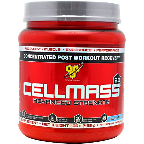 BSN, CellMass 2.0 Blue Razz 50 Servings