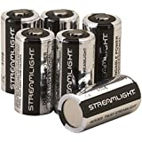 Streamlight 85180 Lithium Batteries CR123A, 6-Pack