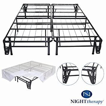 Amazing Bedroom Sets Night Therapy Platform Metal Bed Frame Foundation Set SmartBase Metal