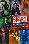 Rent Movie Score Huge Movie Poster Print