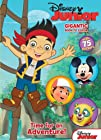 Disney Junior Jake & the Never Land Pirates: Time for an Adventure!: Gigantic Book to Color with…