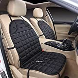 Car Seat Heating,12-volt Heated Seat Cushion with 3-way Temperature Controller Constant Temperature Heating (Latest Version)black