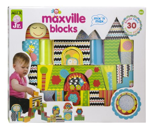 ALEX Toys ALEX Jr. Maxville Blocks