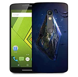 Snoogg Gaming Mode Designer Protective Phone Back Case Cover For Motorola Moto X Play
