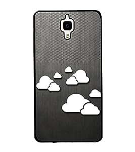 Clouds Pattern 2D Hard Polycarbonate Designer Back Case Cover for Xiaomi Redmi Mi 4 :: Redmi Mi 4