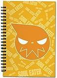 Soul Eater - Yellow Logo Face Notebook