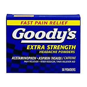 Goody's Extra Strength Headache Powders, 50 Count