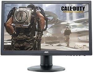 AOC G2460PQU 24 inch Widescreen LED Multimedia Monitor (1920x1080, 144Hz, 1ms, VGA, DVI, HDMI, DP, USB, Kensington Security Lock, i-Menu)