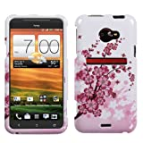 Spring Flowers Phone Protector Cover for HTC EVO 4G LTE + Nano Stapler