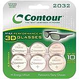 Contour 3D CR2032 3-Volt Value Pack Lithium Batteries -6 Pack (Discontinued by Manufacturer)