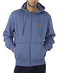Fahrenheit Men's Fleece Sweat Shirt (8903942218507_Light Blue_XX-Large)