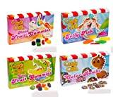 Candy Crush Saga 4 Pack Mix (Colour Bomb, Jelly Fish, Sour Gummies, Mixed Fruit Gummies) (85g-99g per box)