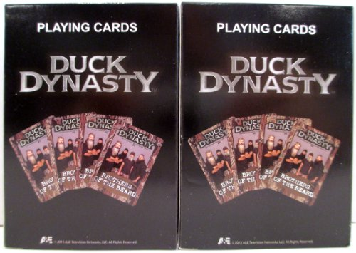 Duck Dynasty Brothers of the Beard Playing Cards - 2 Packs by Creedence Holdings