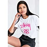 (ステューシー) Stussy レディース トップス Tシャツ Stussy Classic Logo Tee 並行輸入品