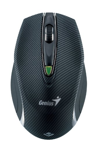 Genius 2.4 GHz 1600dpi Laser Mouse for glass