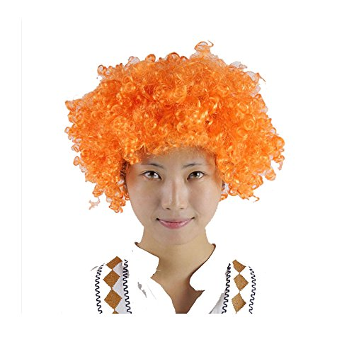 Gobuy (Yellow Afro Clown Wig)