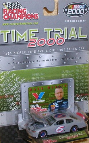 2000 NASCAR Racing Champions Time Trial 2000 Mark Martin #6 Valvoline Ford Taurus 1/64 Diecast